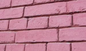 Как покрасить кирпичную стену на улице?