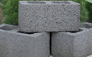 Паропроницаемость керамзитобетонных блоков