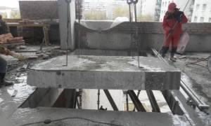 Демонтаж плит Перекрытие технология