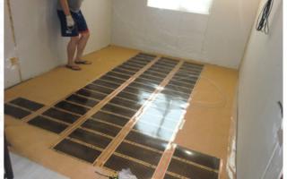 Как стелить фанеру на бетонный пол?