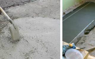 Время схватывания цементного раствора