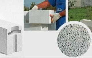 Размер газобетонных блоков для стен