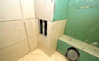 Какой гипсокартон использовать в ванной под плитку?