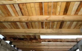 Как сделать деревянное перекрытие между этажами?