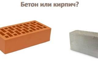Какой цоколь лучше из бетона или кирпича?