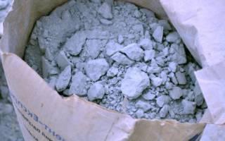 Слежался цемент что делать?