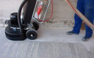 Чем шлифовать бетонный пол в домашних условиях?