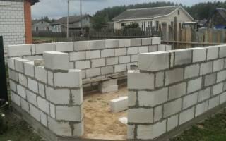 Можно ли строить баню из пеноблоков?