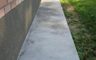 Какой бетон нужен для отмостки вокруг дома?