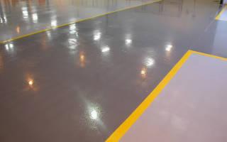 Чем покрасить бетонный пол в квартире?