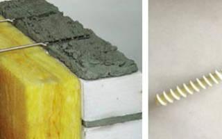 Гибкие связи для облицовочного кирпича и газобетона