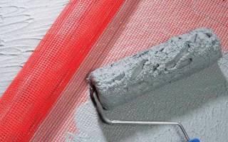 Армирование стен сеткой под штукатурку
