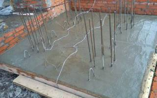 Подогрев бетона сварочным аппаратом