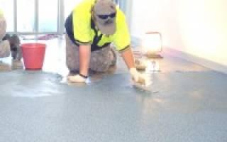 Беспыльные бетонные полы