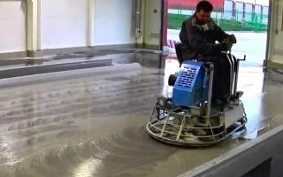 Мозаично шлифовальная машина по бетону