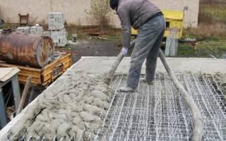 Уход за бетоном после заливки СНИП