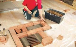 Как приготовить глиняный раствор для кладки печи?