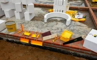 Технология кладки газобетонных блоков на клей