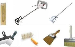 Какие инструменты нужны для шпаклевки стен?