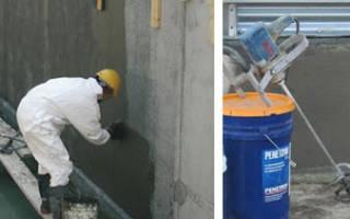 Жидкая проникающая гидроизоляция для бетона