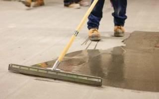Полиуретановая грунтовка для бетона