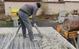Время схватывания бетона м200