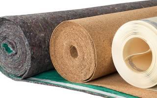 Что положить под линолеум на бетонный пол?