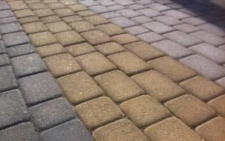 Состав пескоцементной смеси для укладки тротуарной плитки