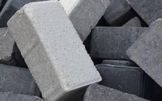 Кирпич бетонный полнотелый