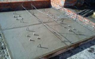 Температурный лист прогрева бетона