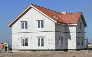 Отделка фасада из газосиликатных блоков