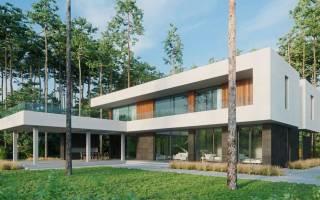 Заливной дом из бетона