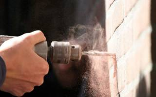 Как просверлить стену в панельном доме?