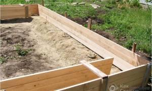 Как правильно сделать фундамент под гараж?