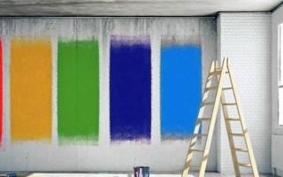 Чем покрасить бетонные стены в гараже?