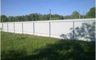 Разметка участка под забор