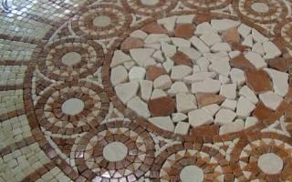 Бетонно мозаичные полы