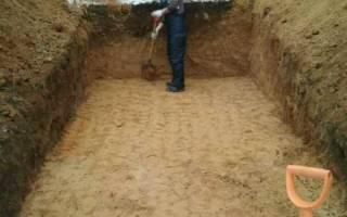 Монолитный погреб из бетона