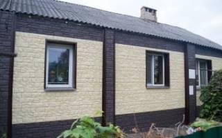 Как обшить дом фасадными панелями своими руками?
