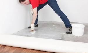 Какой линолеум лучше стелить на бетонный пол?