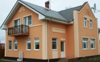 Как правильно наносить короед на фасад дома?