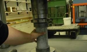 Определение класса бетона по прочности на сжатие