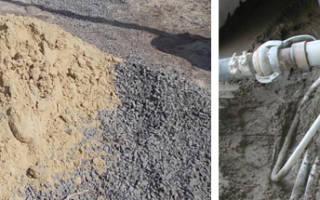 В каких пропорциях смешивать цемент с песком?