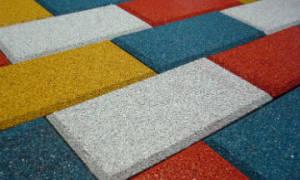 Тротуарная плитка из покрышек своими руками