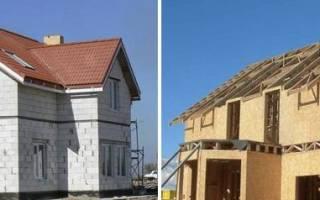 Что дешевле каркасный дом или из газобетона?