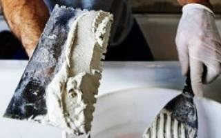Технология оштукатуривания стен из газобетона