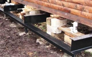 Каким домкратом можно поднять деревянный дом?