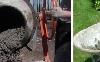 Какой объем бетона получится из мешка цемента?