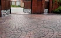 Штампованный бетон технология
