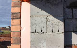 Утепление стен из керамзитобетонных блоков снаружи